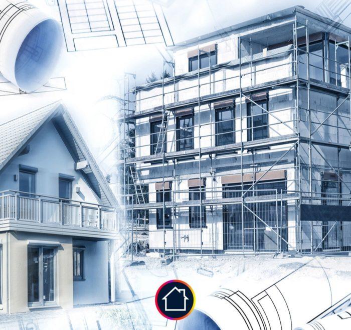 construction immeuble plan