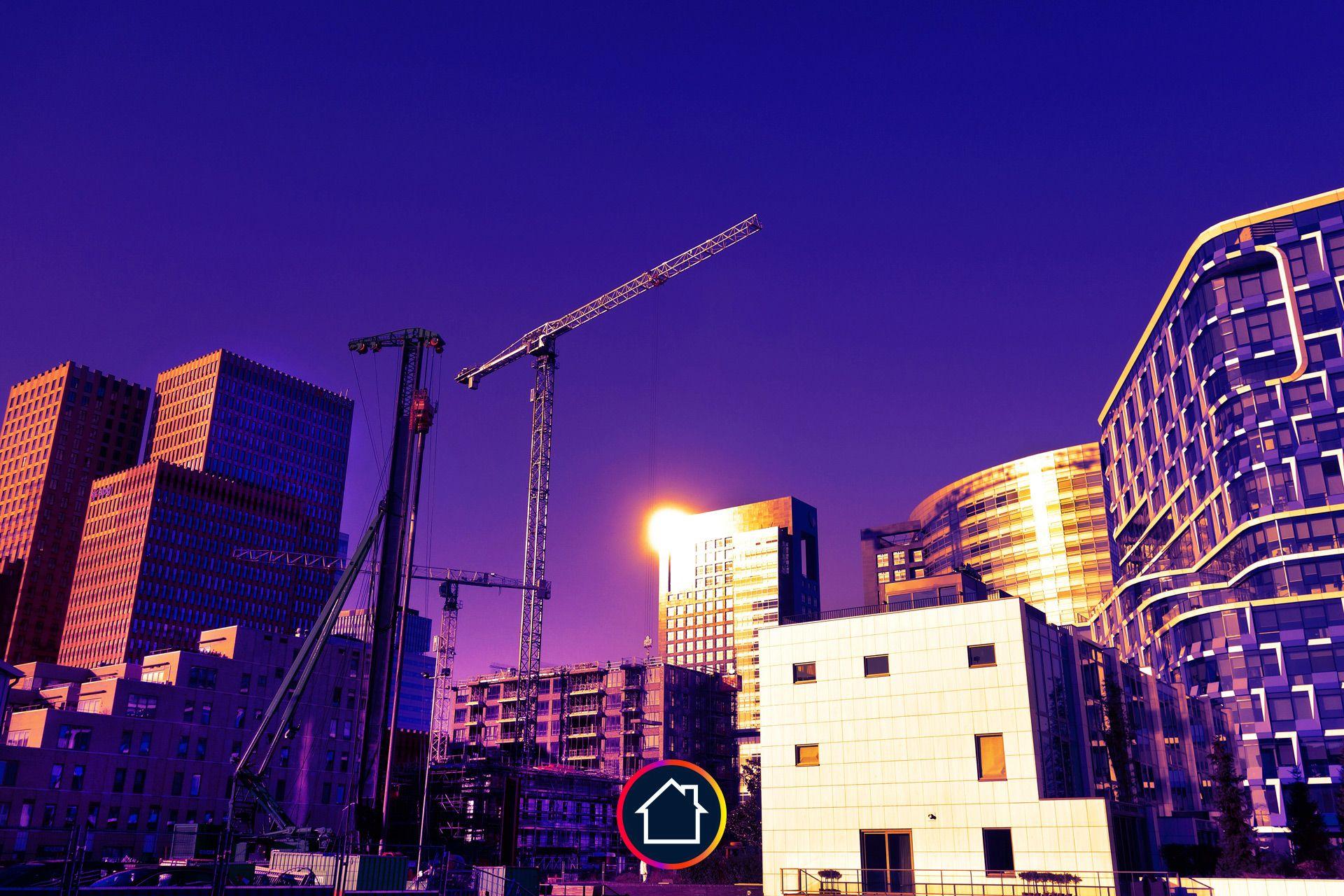 immeuble violet construction