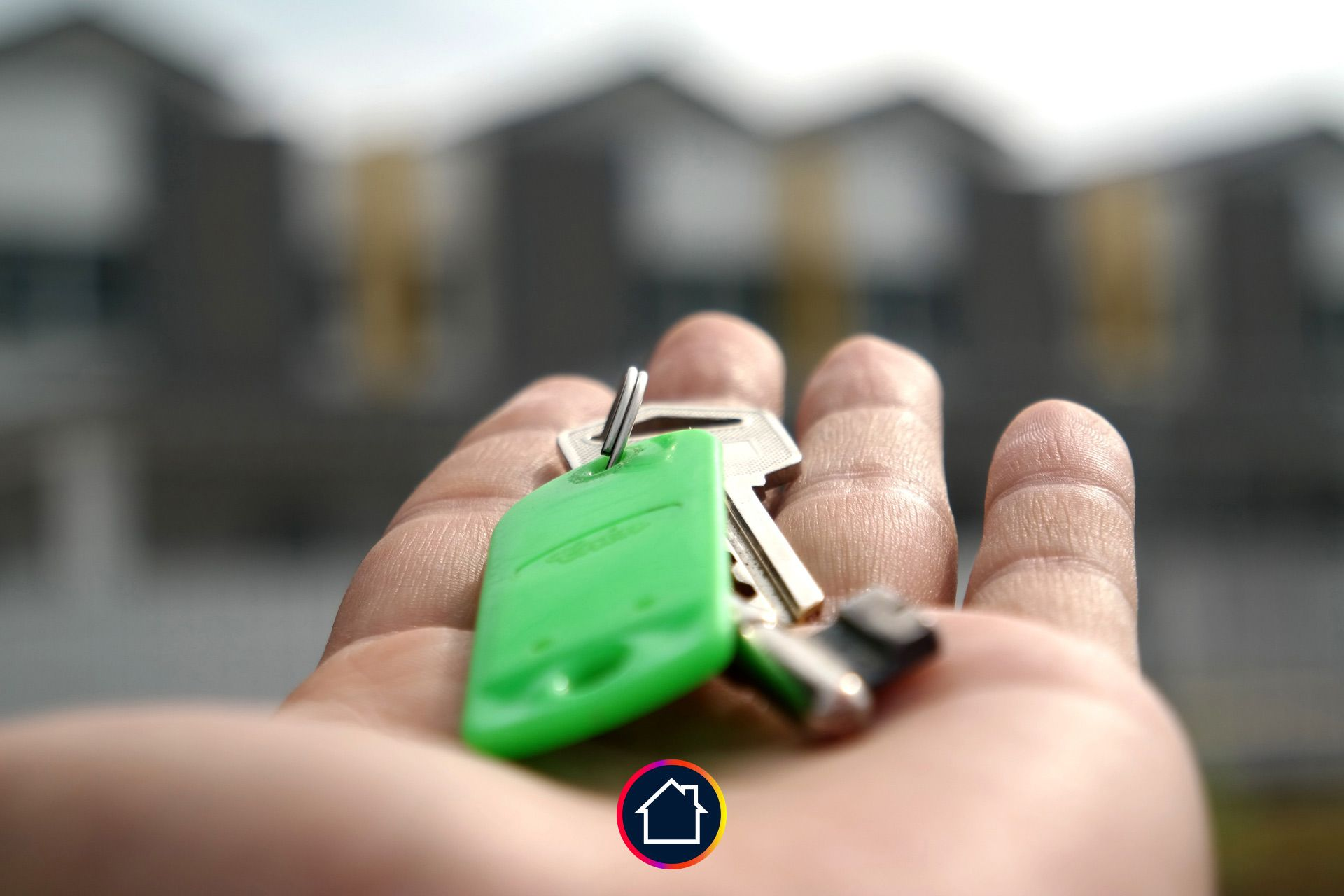 clef verte main maison