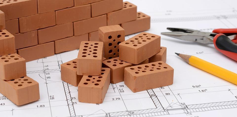 plan réalisé par un architecte à l'aide du plan local d'urbanisme (PLU)